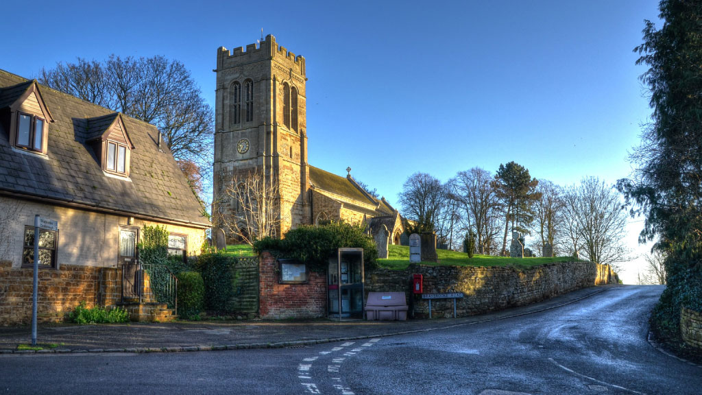 Church in Northampton rural area.