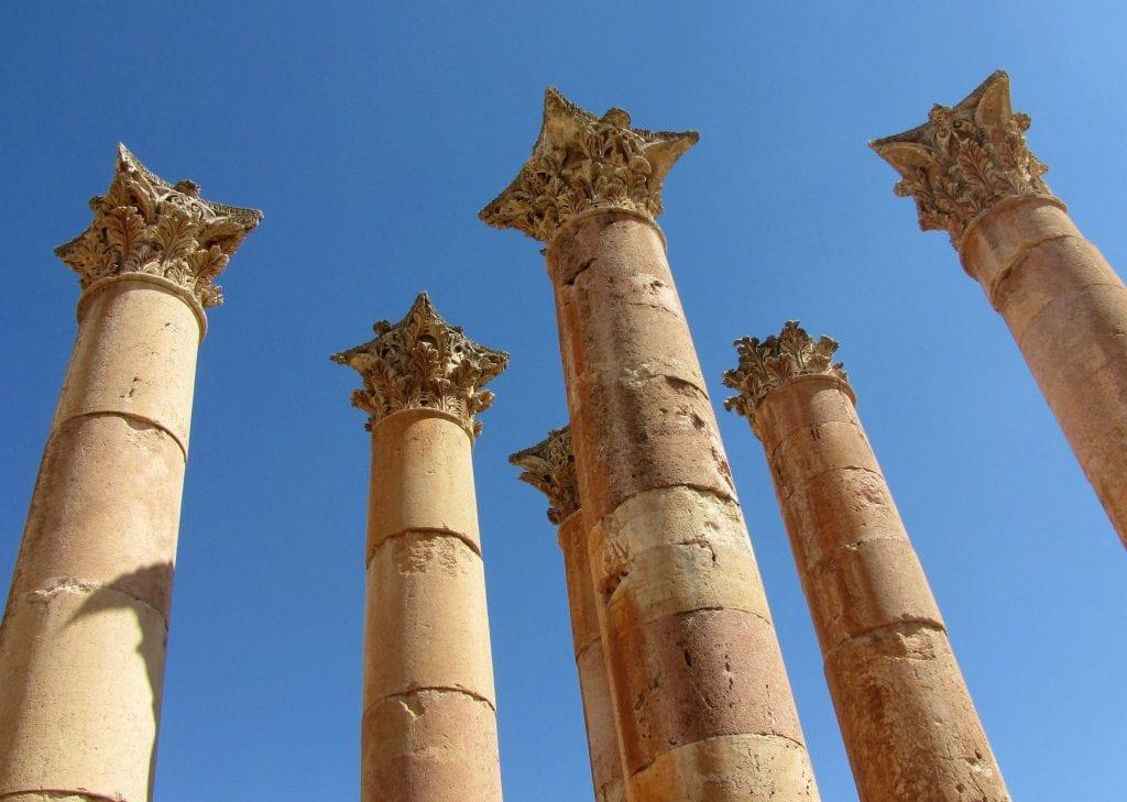 religious columns, transparent company