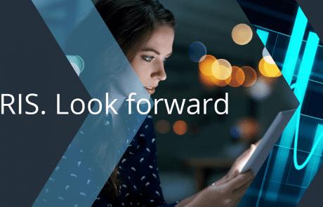 Iris Look forward. iris software group