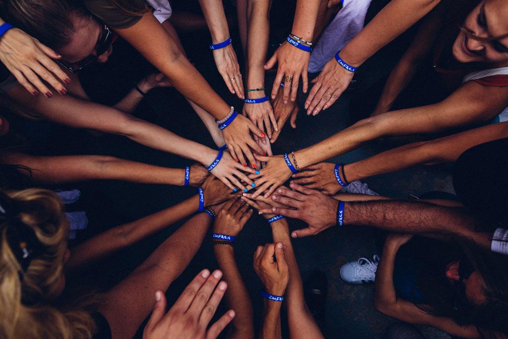 many hands, charity program